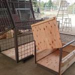 中国動物園様からの依頼にてIATA基準アシカ・アザラシ輸出用クレートの施工をしました。イメージ
