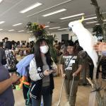 今月も専門学校 ビジョナリーアーツ渋谷校様にて移動動物園を開催しました! イメージ7