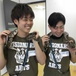GW専門学校 ビジョナリーアーツ渋谷校にて移動動物園を開催しました! イメージ6